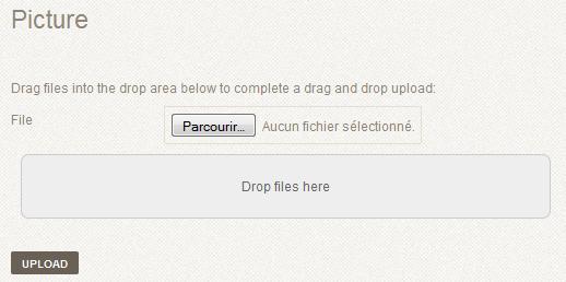YooRecipe Drag And Drop Upload